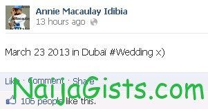 2face idibia dubai wedding date