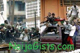 nigerian police killed massob members