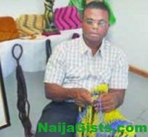 blind weaver ubaka