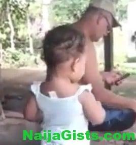 baby girl dancing salsa samba