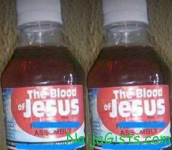 blood of jesus communion drink