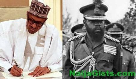 buhari pension biafran policemen