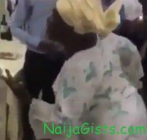 grandma dancing to vector song