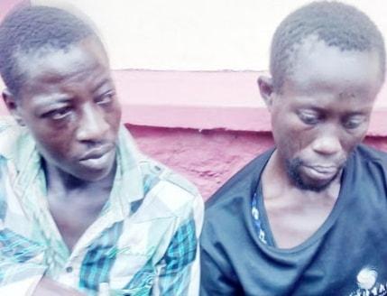 armed robbers robbing okada men ota ogun state