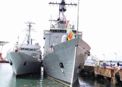 canadian navy warships lagos nigeria