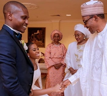 damilola osinbajo seun bakare white wedding