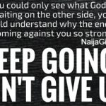 dont give up on God sermons