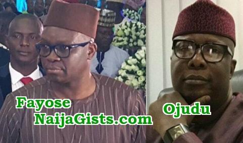 fayose flee niger republic