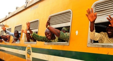 free easter train ride osun state