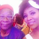 genevieve nnaji father cinema watch black panther movie