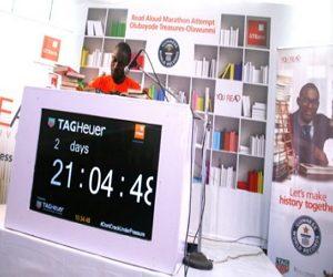 guinness world records read aloud marathon