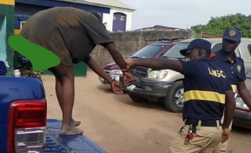 mad woman kidnapped child agege lagos