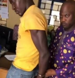 man uses karate fight robber abuja