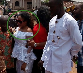 mary uche cries father burial
