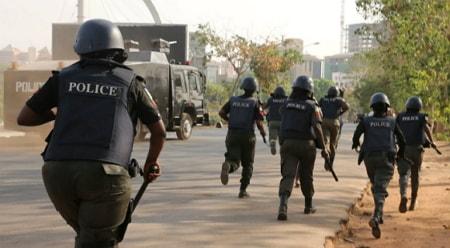 nigerian police lies cover up crime story