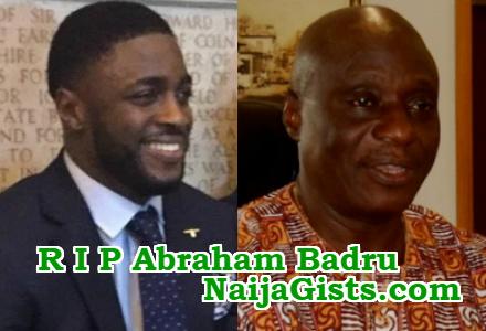 nigerian politician son killed london