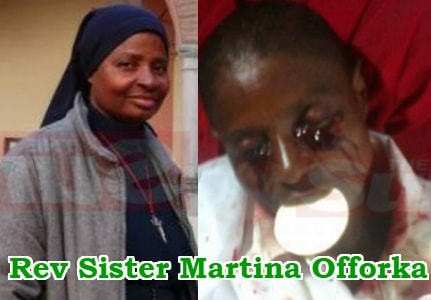 nigerian rev sister receives stigmata