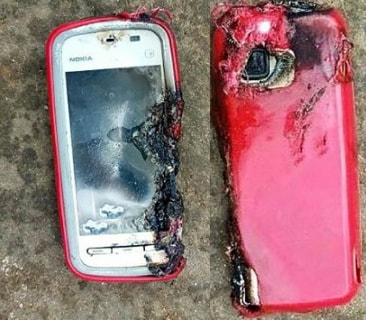 nokia smart phone explosion kills girl india
