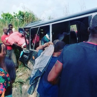 nollywood actors agn members injured accident anambra