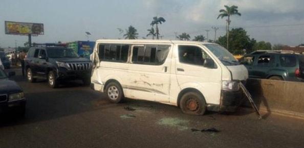 obaseki convoy accident benin