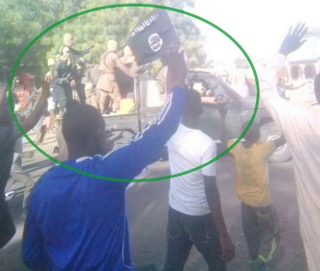 photos boko haram terrorists dropped dapchi girls