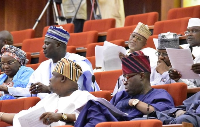 salary fixing nigerian senators unconstitutional
