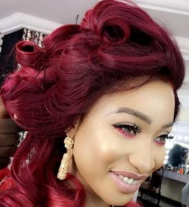 tonto dikeh red stylist