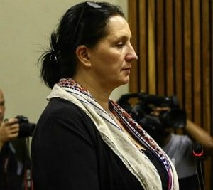 white south african woman jailed racism