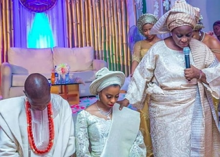 yemi osinbajo daughter wedding aso rock