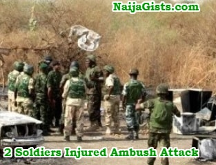 2 soldiers injured ambush attack kaduna