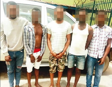 5 gay men arrested ikotun lagos hiv infection