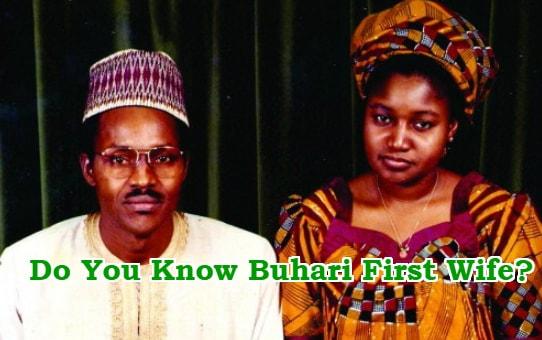 about buhari first wife safinatu yusuf