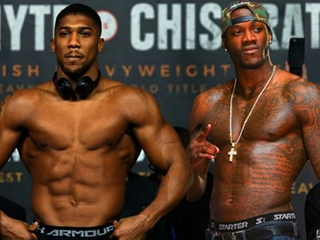 anthony joshua accept deontay wilder fight offer