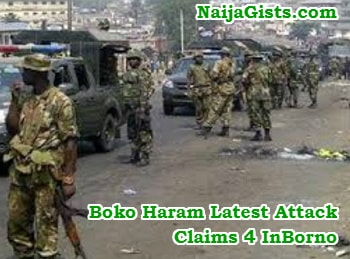 boko haram sunday night attack borno state