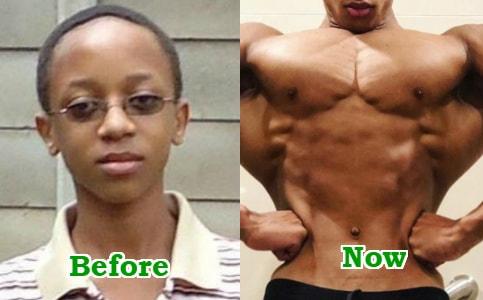 boy made fitness focus life