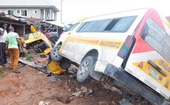 man crushed death abeokuta sagamu expressway