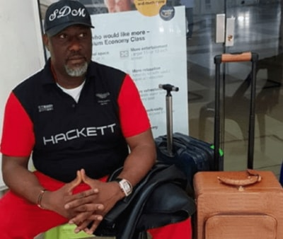 dino melaye arrested abuja airport