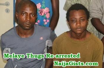 dino melaye thugs rearrested