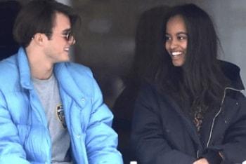 Malia Obama British Boyfriend