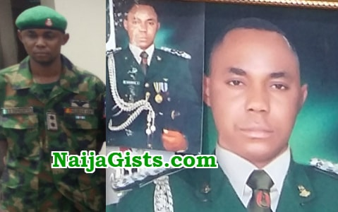 nigerian army deserter fake soldiers camp