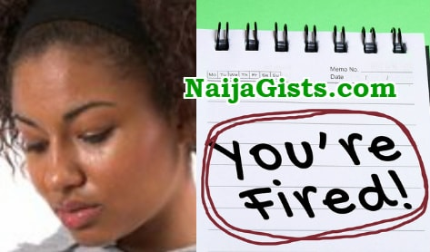 nigerian lady fired indian boss sex