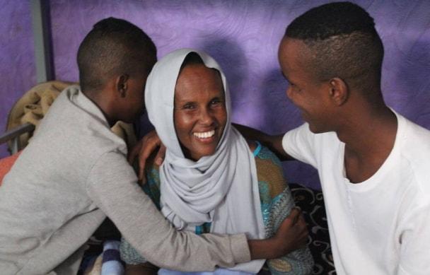 somalian widow tortured libya
