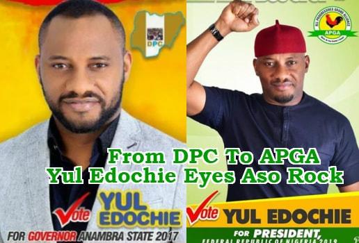 yul edochie running president