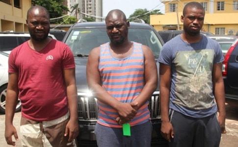 3 yahoo boys arrested lagos estate