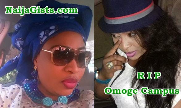 aisha abimbola burial corpse dead body