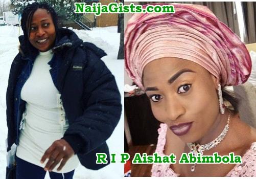 aishat abimbola dead