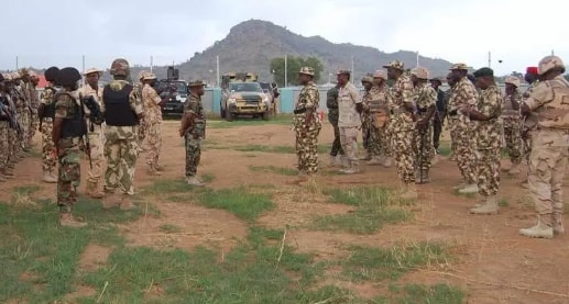 naf destroys bandits camps kaduna