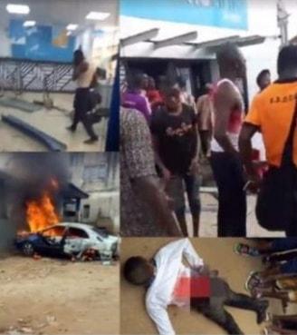 armed robbers attack union bank ilawe ekiti
