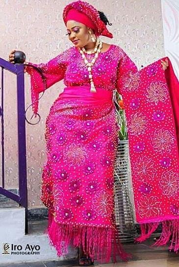 biodun okeowo wedding day