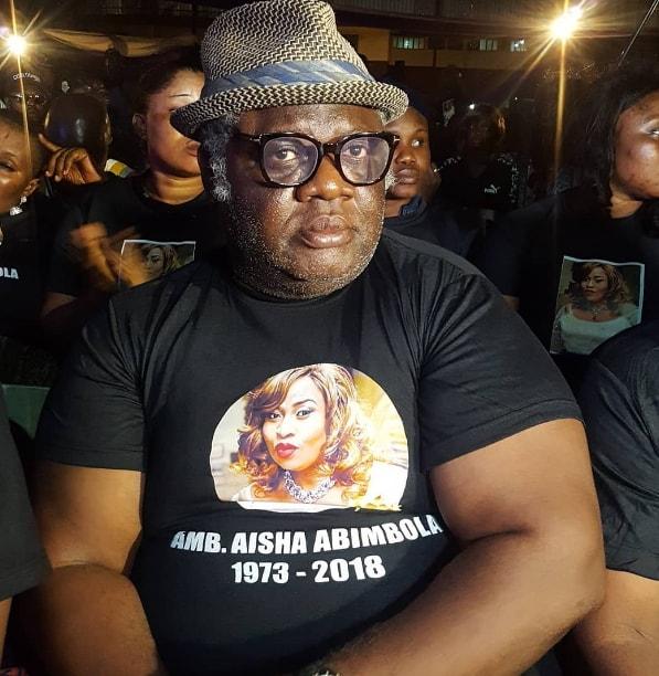 aisha abimbola candle light vigil